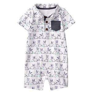 fde0ec6b57f2 Image is loading NWT-Gymboree-Baby-Bunny-Rabbit-Romper-Baby-Boy-