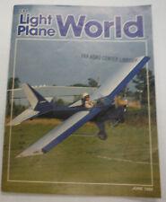 EAA Light Plane World Magazine Shades Of Yesteryear June 1986 FAL 071615R