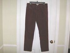 **Chic EILEEN FISHER Baby Wale Cord  5-POCKET Slim Leg JEANS - size S**