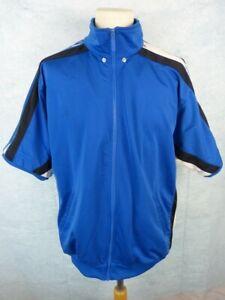 Détails sur ADIDAS Veste vintage 90's Homme Taille 186 7 Bleue Pressions