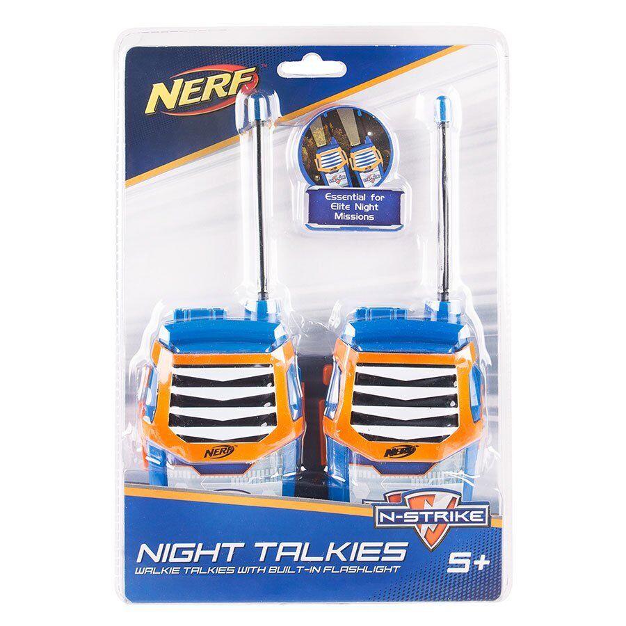 Nya NERF N -Strike Night Talkies Sett, inbyggda i Flashljus promänadie Talkie