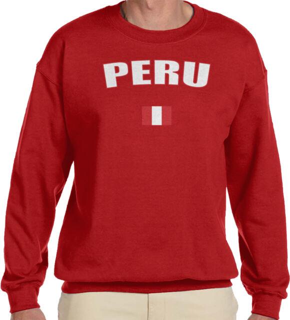 Peru Flag Soccer Futbol Peruvian Pride Bandera Peruana Mens V-neck T-shirt
