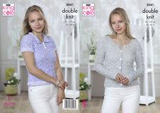 f3038b4720ee Knitting Pattern 4531 Ladies Cardigan   Top in King Cole Giza DK ...
