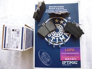 Jeu-4-plaquettes-frein-arrieres-Audi-A6-avant-quattro-LDPA44