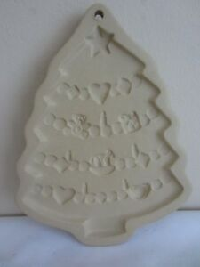 Vintage Brown Bag Cookie Art 1986 Hill Design Christmas Tree Holiday Craft Mold
