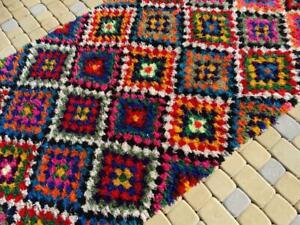 Handmade Moroccan Berber Boucherouite