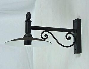 Applique lampada da parete per interno e esterno ferro forgiato