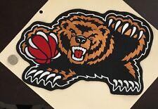 """Vintage Vancouver Memphis Grizzlies NBA Logo Patch 13"""" X 8"""""""