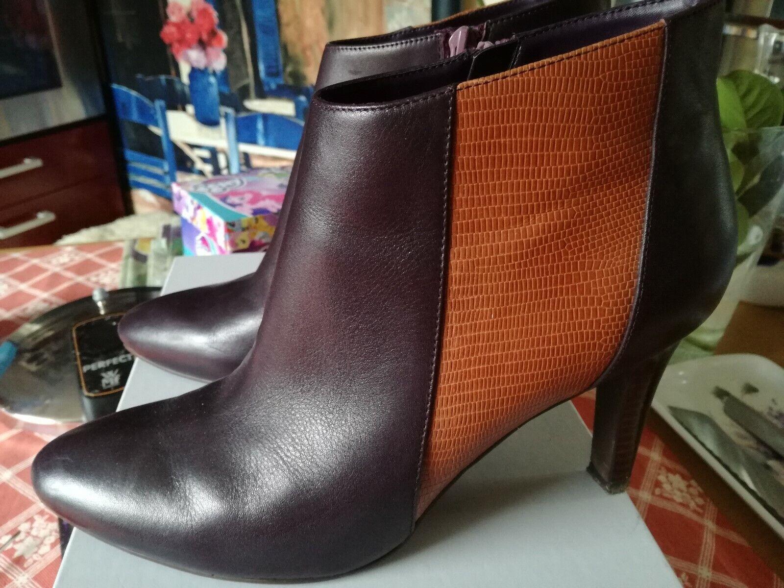 Damen Stiefel, Stifeletten, COX, Gr. 40-41, sehr gut, bequem, echtes Leder,neuw.