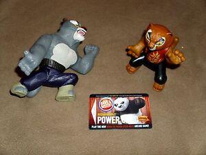 Tigress Tai Lung Kung Fu Panda Mcdonald S Figureines D B Card Ebay