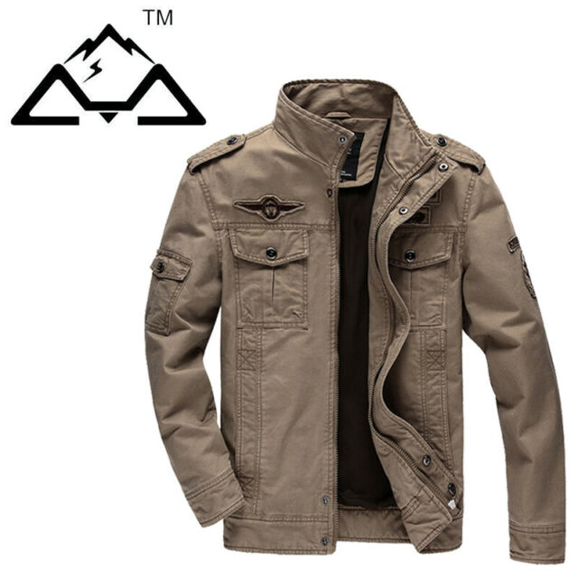 Fashion Men's Military Army Jacket Air Force Casual Jackets Outwear For Men TOP