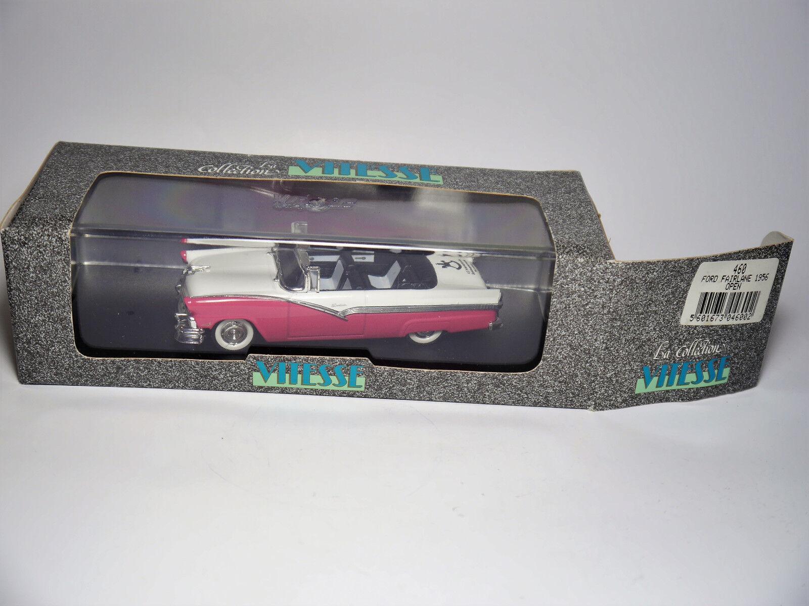 Ford Fairlane cabriolet 1956  43. toy fair nuremberg 1992 , vitesse de 1 43 en Boîte