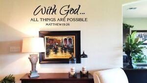 Matthew-19-26-Bible-Verse-Vinyl-Wall-Stickers-Decals-Scripture-Word-Art-Decor