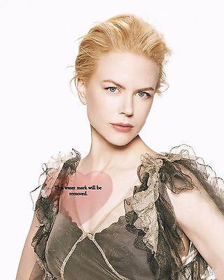 GLOSSY PHOTO PICTURE 8x10 Nicole Kidman Neckline