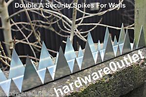 Security Wall Spike Double A Spike 900 Mm Long Screw