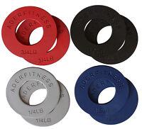 Ader Olympic Fractional Plate Pair Sets - 1/4lb, 1/2lb, 3/4lb, 1lb (choose Set)