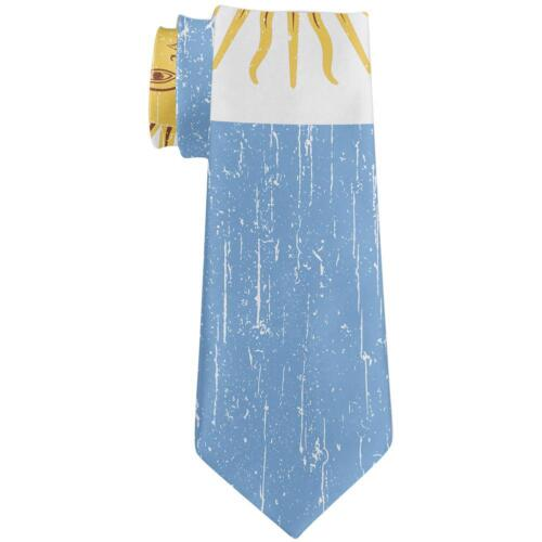 World Cup Argentina Sun All Over Neck Tie