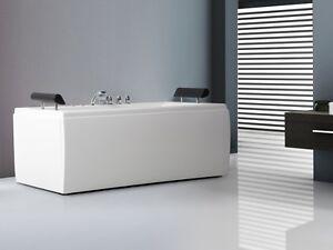 Una Vasca Da Bagno Traduzione Francese : Whirlpool vasca da bagno indipendente mit doccia led acqua a