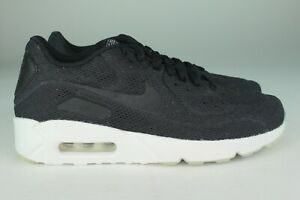 Details about NIKE AIR MAX 90 ULTRA 2.0 BR MEN SIZE 7.5 & 11.5 BLACK NEW COMFORTABLE STYLISH