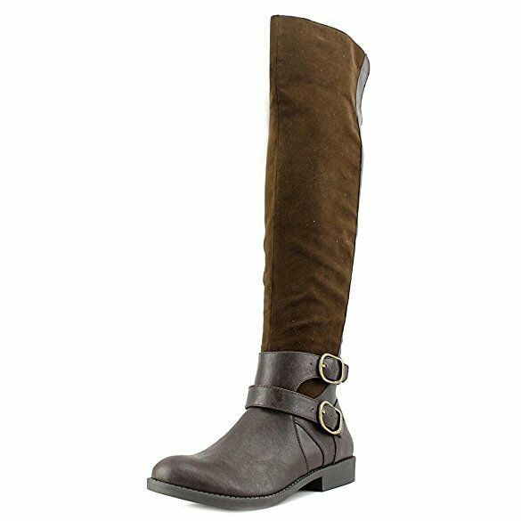Nine West Woodsie Women US 7 Brown Knee High Boot