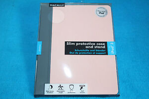 Macally-Delgado-Funda-Protectora-con-Soporte-para-iPAD3-IPAD-3-Rosa-Color