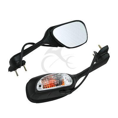 Rear View Mirror Turn Signal For Suzuki GSXR600 GSXR750 11-17 GSXR1000 2009-2016