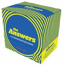 The Answers : A Conversation Game by Amy Krouse Rosenthal (2015, Board Book)
