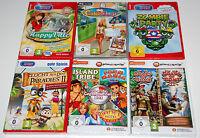 9 Spiele-set - Pc Sammlung Paket - Gegen-die-zeit / Aufbau-simulation / Logik