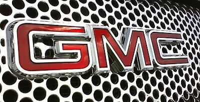 2007-2013 GMC Sierra 1500 Denali Chrome Upper Grille Upgrade w/ Emblem OEM NEW