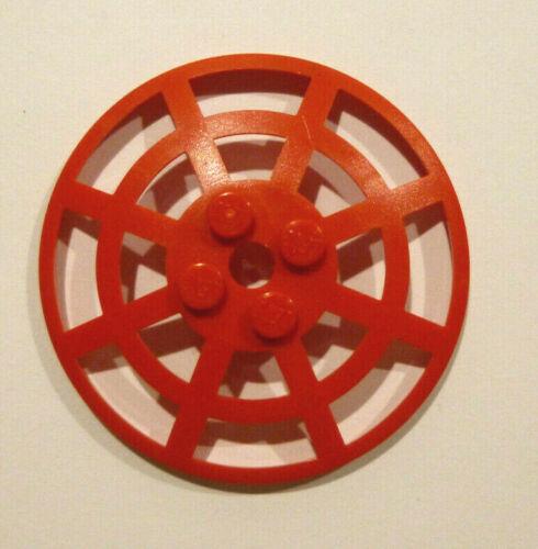 1 x LEGO® 4285 Systemstein Radar Satelitschüssel Gitter 8x8 rot.
