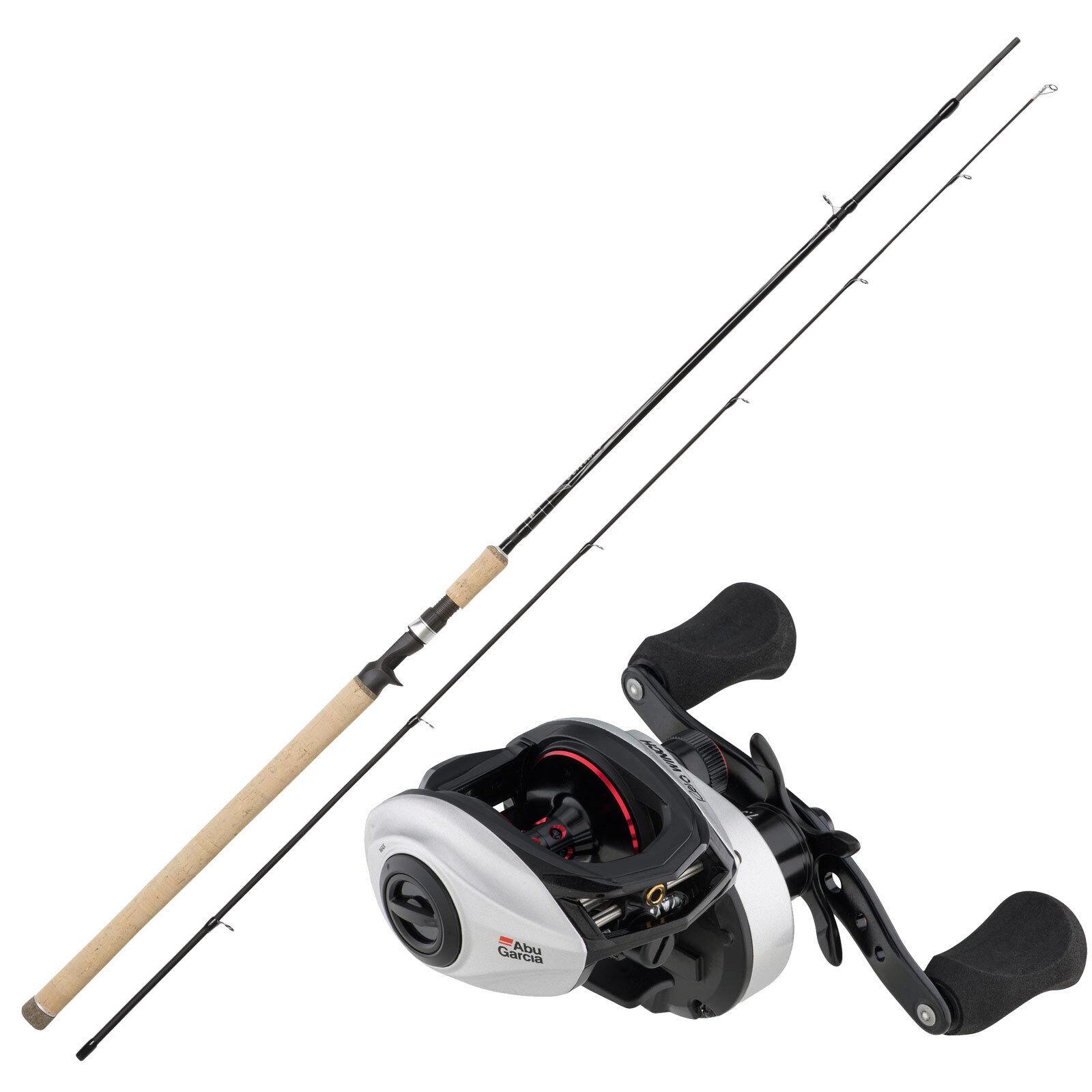 Accessoires pêche Abu Garcia Baitcaster rôle & Perche 2,44 M 10-30 g Combo