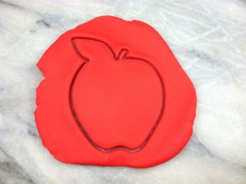 fruits Apple Outline Cookie Cutter choisissez votre propre Taille