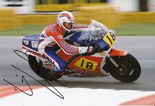Wayne Gardner Hand Signed Honda 12x8 Photo.