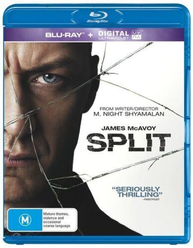 1 of 1 - Split Blu-ray NEW James McAvoy original Australian release