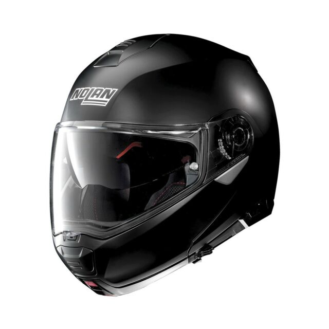 Klapp Helm Nolan N100-5 Classic N-COM Schwarzmatt Größe:XXXL (65) Flat Black 10