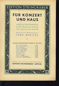 Godard-034-Berceuse-de-Jocelyn-034-fuer-Violine-und-Klavier