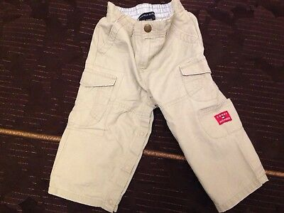 Baby & Toddler Clothing Clever Babys Tommy Hilfiger Cargo Trousers 18-24 Months Refreshment Bottoms