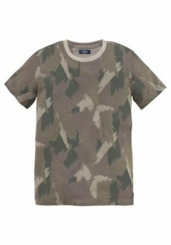T-SHIRT Kinder Kindershirt Junior Military Look 128-182 Jungen Outdoor