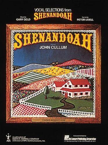 Shenandoah Sheet Music Vocal Selections NEW 000384716