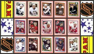 2005-06-Panini-Year-NHL-Hockey-Stickers-Set-of-390-Crosby-Ovechkin-Parise-Rookie