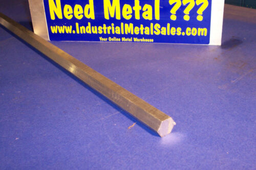 "5//8/"" x 60/""-Long 6061 T6 Aluminum Hexagon Bar -/>.625/"" 6061 T6 Aluminum Hex"