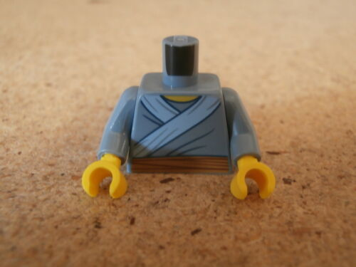 Lego City Minifig Sand Blue Torso Tunic Chinese New Year NEW