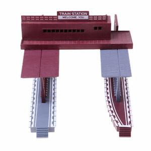 Scale-Building-1-87-Gauge-Model-Train-Railway-Layout-Shelter-Station-Toy-Plastic