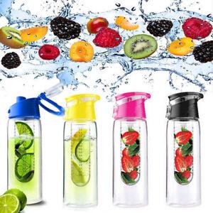 Transparent-Sports-en-plastique-Nalgene-Wide-Mouth-Bouteille-D-039-Eau-Jus-Tasse-Exterieur-Gym