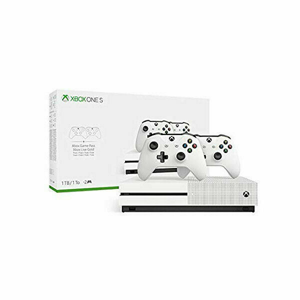 Microsoft Xbox One S 1tb Two-controller Bundle - for sale online | eBay