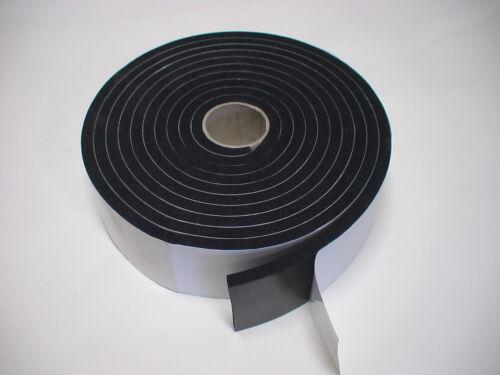 Zellkautschuk Moosgummi Vorlegeband Dichtung 5m x30x8mm BAW