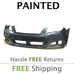 Details About New 2010 2011 2012 Subaru Legacy Front Bumper Cover Painted Su1000166