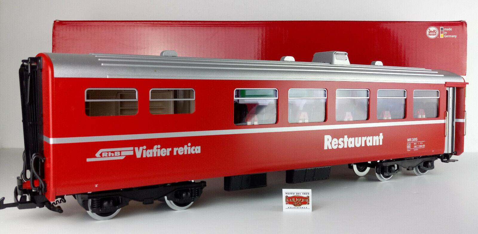 vendendo bene in tutto il mondo LGB 30680 - Auto Ristorante Rathische Bahn - con con con Luce   - come Nuovo  - Imb. Or.  servizio onesto