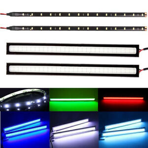 LED-Strip-DRL-Daytime-Running-Lights-FOG-COB-Car-Day-Driving-12V-Decoration-Lamp