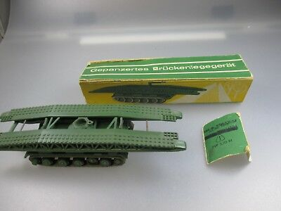 RüCksichtsvoll Prefo, Ddr Modell, Spur H0, Brückenpanzer (gk111) Harmonische Farben